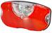 Busch + Müller Selectra Plus Dynamolampor LED röd/svart